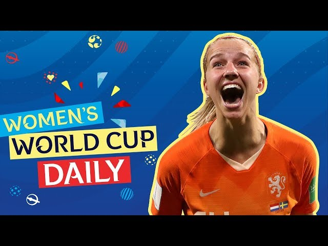 Groenen and the Netherlands power through to the Final | Women's World Cup Daily