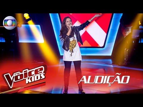 Duda Castro canta 'Se olha no espelho' na Audição – The Voice Kids Brasil | 2ª Temporada