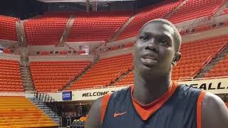 OSU Basketball: Ane, Dziagwa talk Syracuse