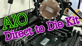 Try AIO with the Ditect to Die Kit. Will it be OK?