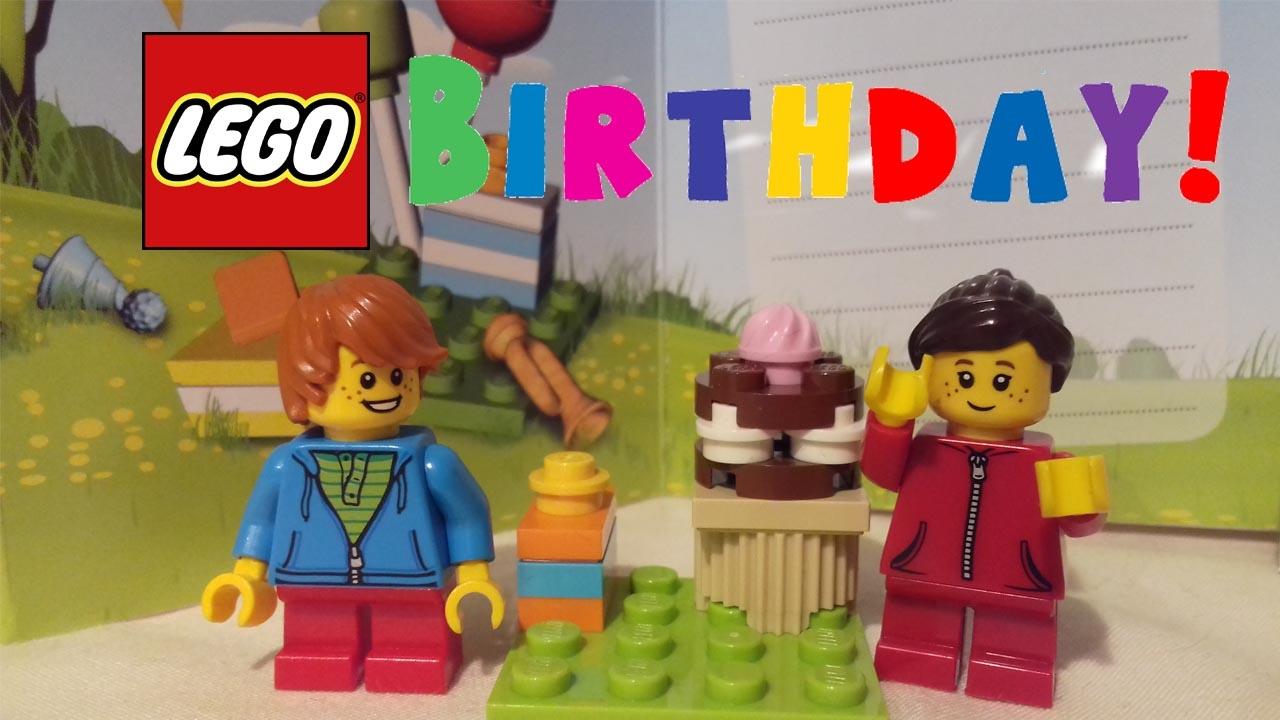 Free Birthday Vouchers ~ Lego store free birthday gift promotional set review 2017! youtube