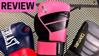 BOXING GLOVE REVIEW | Everlast | Hayabusa | Century Martial Arts