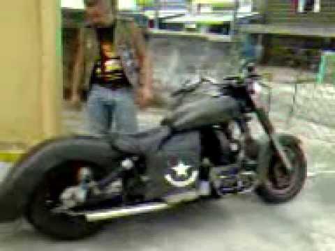 moto amazonas 1600cc 100terra youtube. Black Bedroom Furniture Sets. Home Design Ideas