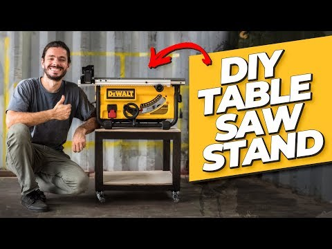 DIY Table Saw Stand - Living Tiny Project Ep. 027