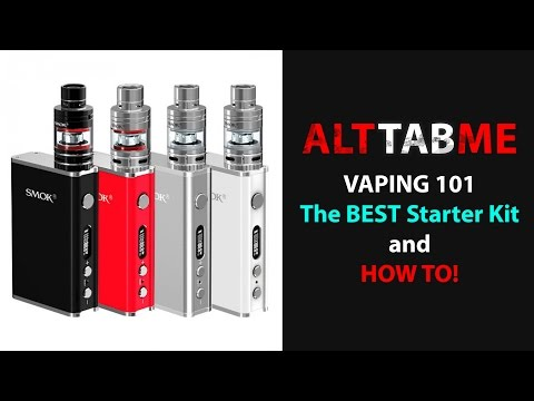 The BEST Starter Kit & HOW TO set it all up, for the beginning VAPER in 2017!
