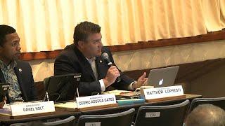Rep. Matt Lopresti speaks about rail August 30, 2017