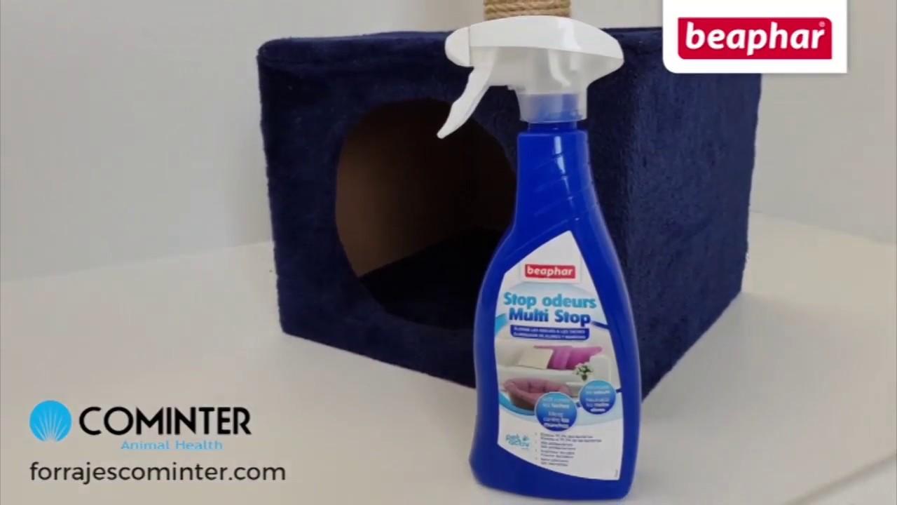 Eliminador olores y manchas beaphar TV