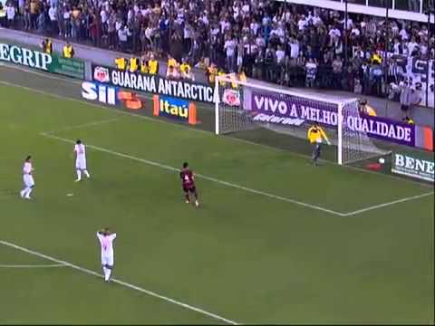 Highlights of Santos 4 x 5 Flamengo Brazilian National Football League