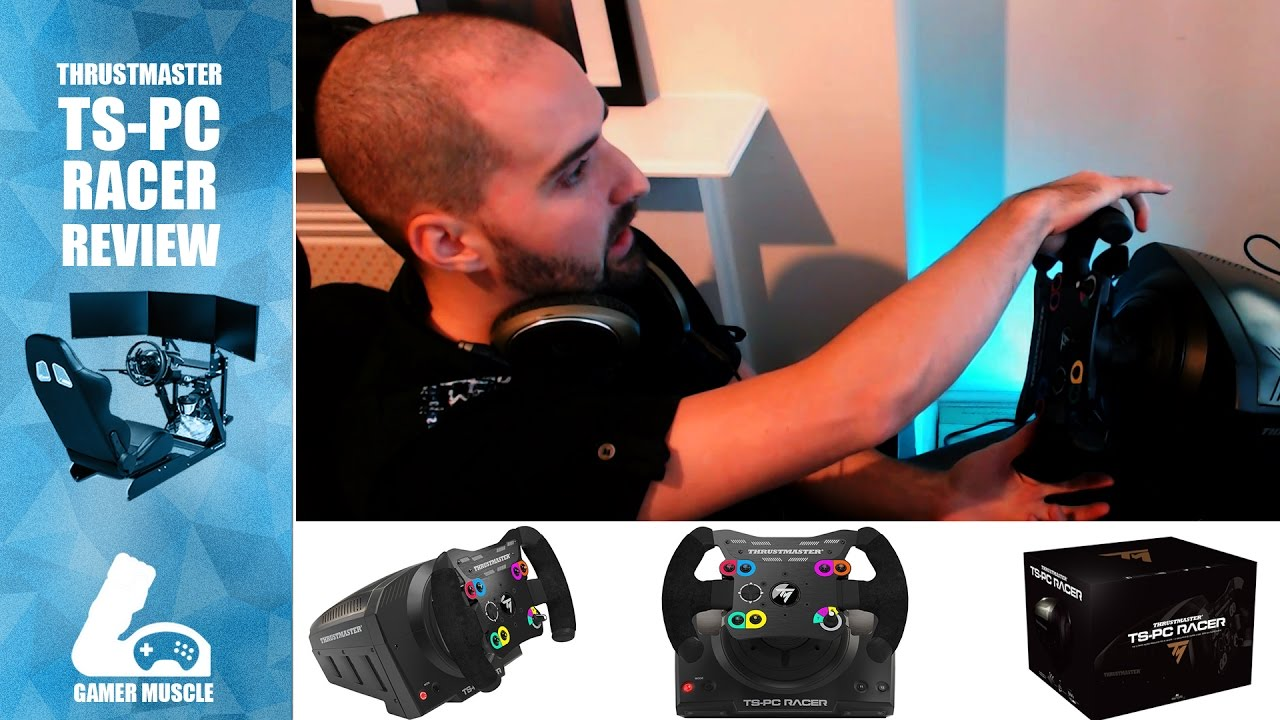 thrustmaster ts pc racer wheel review youtube. Black Bedroom Furniture Sets. Home Design Ideas