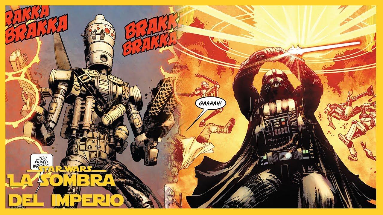 Cómo IG-88 Casi Asesinó Darth Vader ¡El Culto Sith Revelado! – Comic 13 Darth Vader 2020