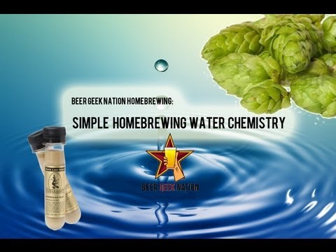 Simple Homebrewing Water Chemistry How-to | Beer Geek Nation Beer Reviews