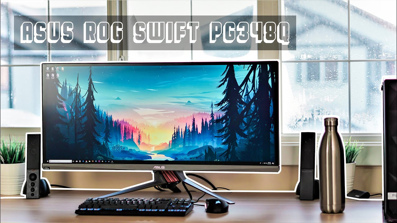 Ultrawide Gaming Monitor Asus ROG Swift PG348Q 100Hz [3440 x 1440p] by  ARDTECH STUDIO