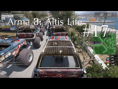 Arma 3: Altis Life แข่งรถวิบาก #17