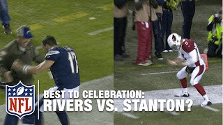 Better TD Celebration Dance: Philip Rivers or Drew Stanton? | NFL