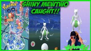 SHINY MEWTWO CAUGHT LAST RAID! + 20X RAIDS IN POKEMON GO! MUST WATCH VIDEO.