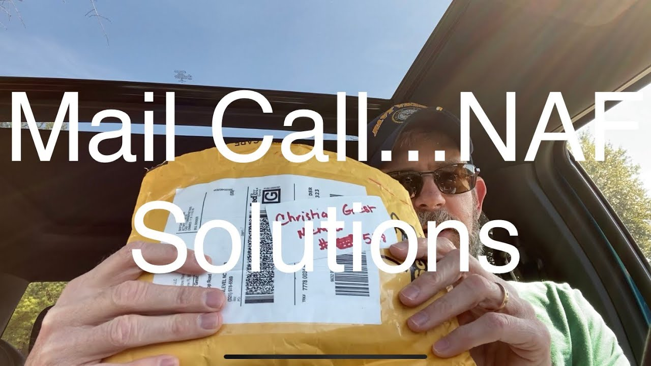 Mail Call...NAF Solutions #NAFSolutions #2AStrong #FrameStippling