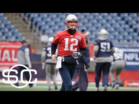 Tom Brady hurts hand in 'minor collision' at practice | SportsCenter | ESPN