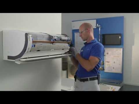 Daikin Online Controller - Ururu Sarara FTXZ-N installation video