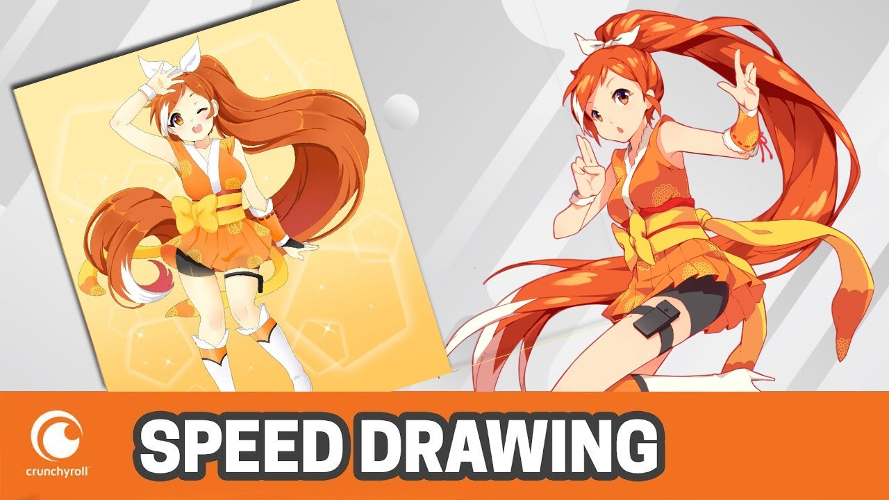 Speed Drawing Crunchyroll Hime Von Nashira