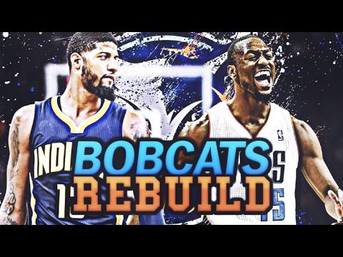 Worst Nba Team Ever Charlotte Bobcats Rebuild Nba 2k17 My League