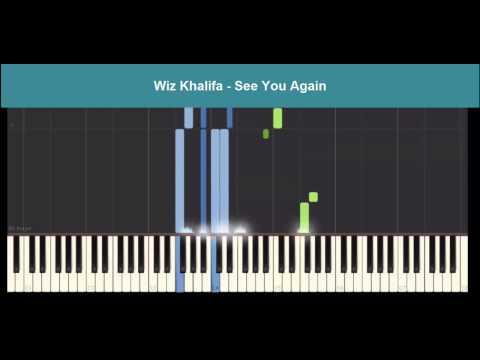 Wiz Khalifa - See You Again - Fast & Furious 7 [ piano, Tutorials, chords, notations, cover ]