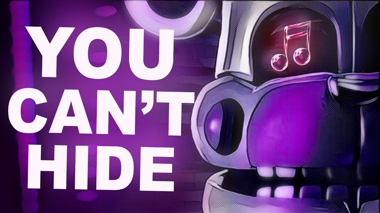 Fnaf Sister Location Song You Cant Hide By Ckc Official Sfm