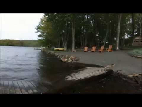 Pocono Custom LAKEFRONT Home  WOW What A View!