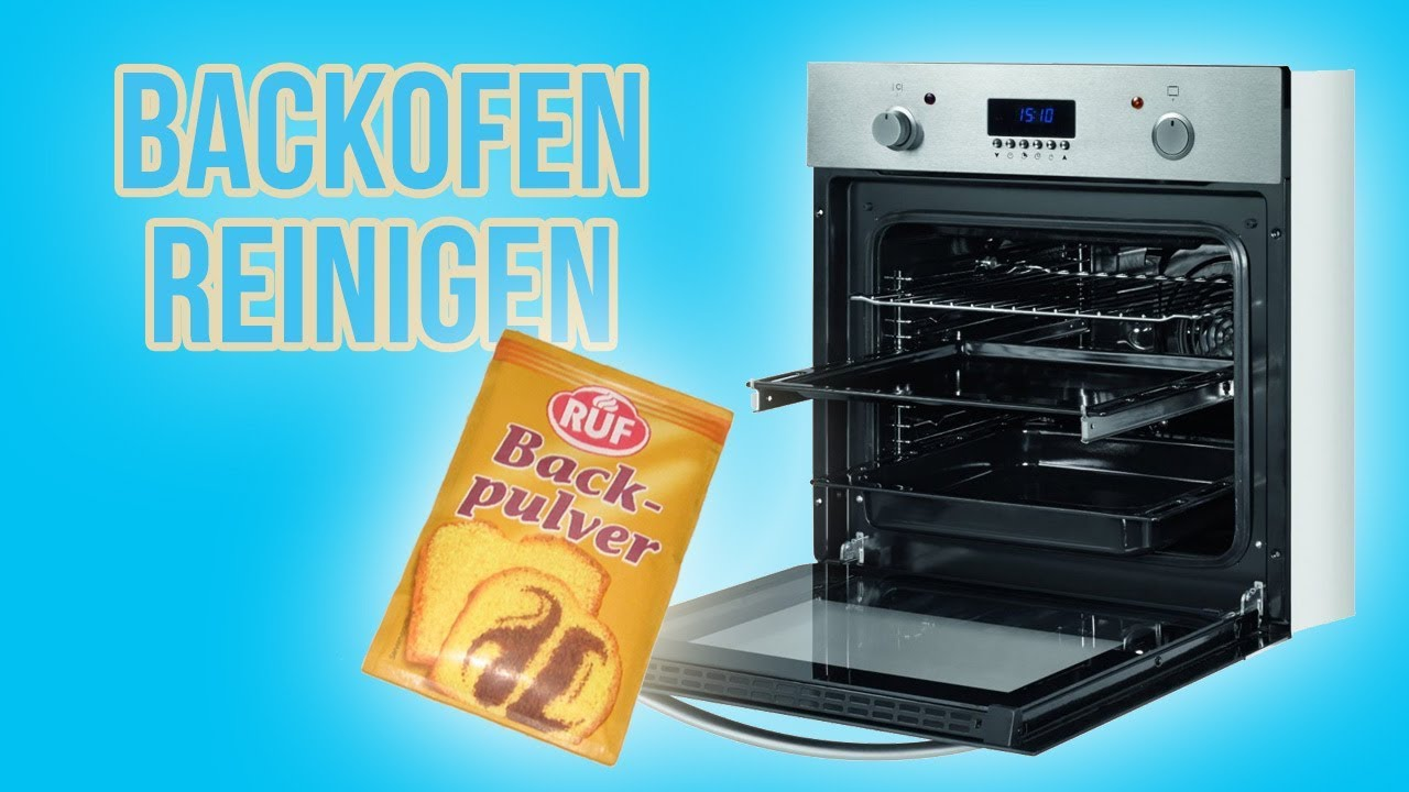 backofen mit backpulver putzen einfach g nstig reinigungs hack youtube. Black Bedroom Furniture Sets. Home Design Ideas