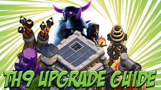 What to UPGRADE FIRST in Clash of Clans Town Hall 9 | Complete Upgrading Guide | Clash of Clans