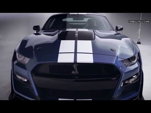 2020 Ford Mustang Shelby Gt500 Exterior And Interior Youtube