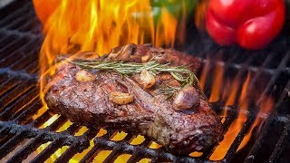Best Steak in Germany | Amazing German Style Steak | German BBQ | #steak