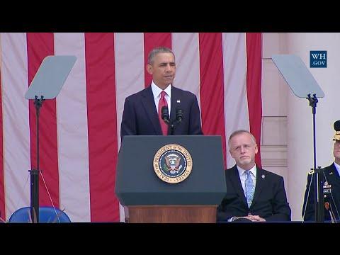 President Obama Memorial Day Speech at Arlington National Cemetery  - Full Speech