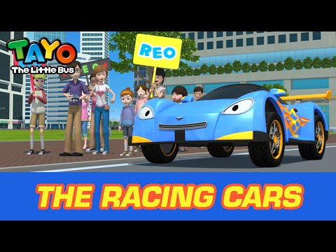 Thumbnail: [Meet Tayo's Friends] #6 The Racing Cars
