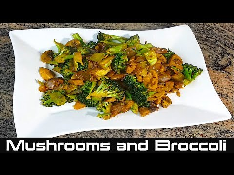 how-to-cook-mushroom-and-broccoli-|-sauteed-mushrooms-and-broccoli-recipe