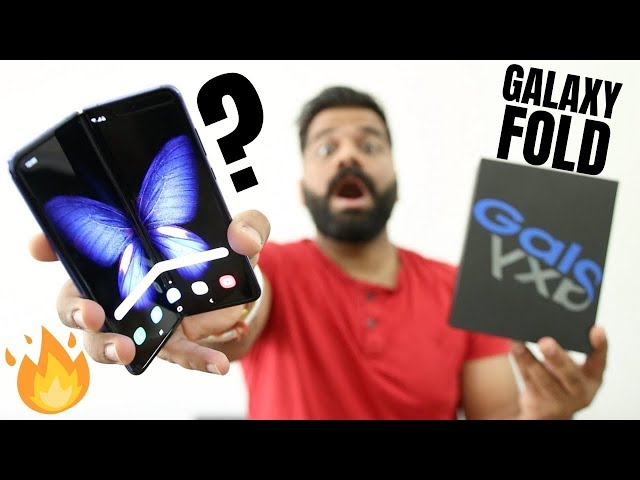 Samsung Galaxy Fold Unboxing & First Look - Future is Here