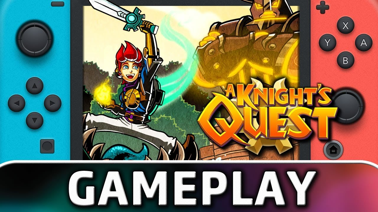 A Knight's Quest | First 25 Minutes on Nintendo Switch