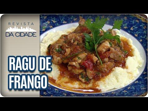 Receita de Ragu de Frango - Revista da Cidade (12/07/2017)