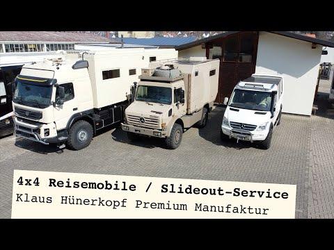 Allrad-Reisemobile - Slideout Service / Womoclick