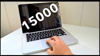 КУПИЛ MacBook PRO ЗА 15000 | Б/У MACBOOK В 2018 ГОДУ