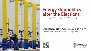 Baixar Energy Geopolitics after the Elections: The Struggle for Energy Security in Europe
