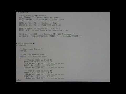 ATMega32u2 Mini DV Firmware/Software