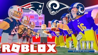 GOING TO SUPER BOWL LIII 2019 IN ROBLOX (Roblox Legendary Football)
