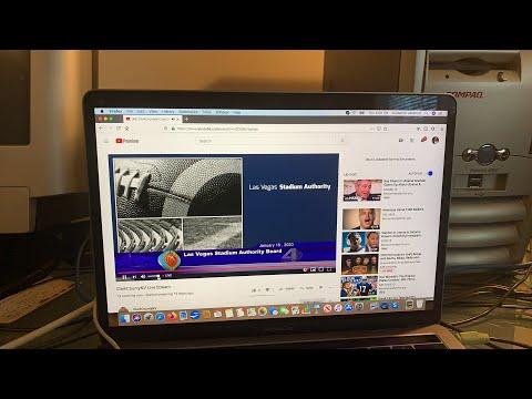 Las Vegas Stadium Authority Meeting Livestream January 16, 2020