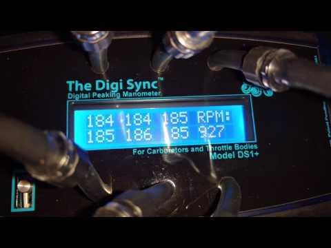 | NOT Syncpro Digital Carb Sync Tool Vacuum Gauge 4-CHANNEL Digital Throttle Body Sync Tool The Digi Sync Digital Peaking Manometer