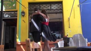 Buenos Aires tango dancing La Boca 854