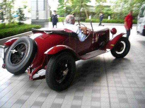 Alfa Romeo 6C 1500 Super Sport in Tokyo