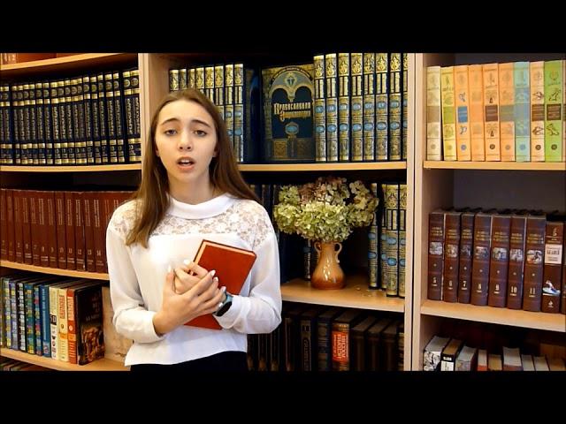 Изображение предпросмотра прочтения – ДарьяДеменок читает произведение «Книги в красном переплете» М.И.Цветаевой