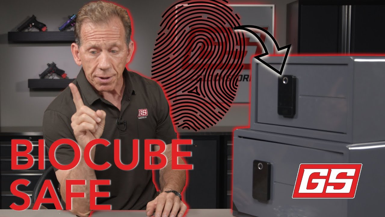 This Safe Opens with Your FINGERPRINT! Lenny Magill Checks Out the New BioCube Safes!