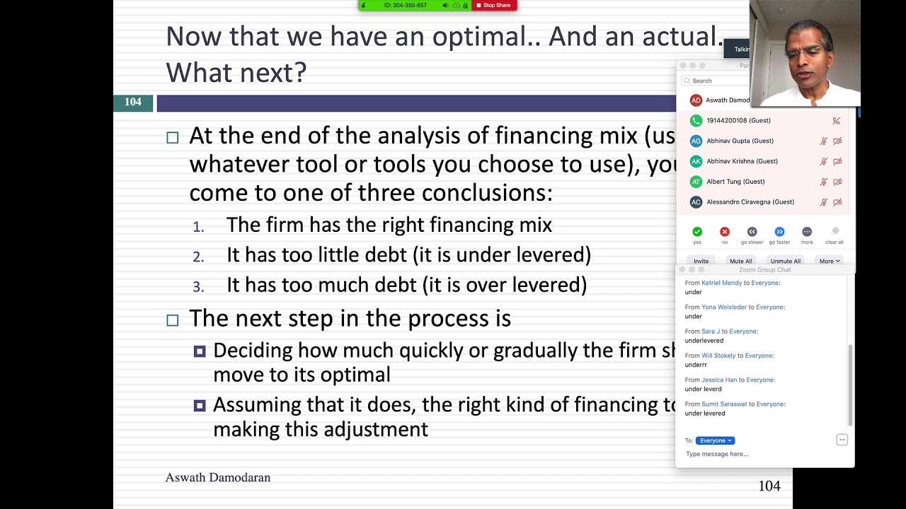 Session 20 Moving To The Optimal Debt Design Youtube