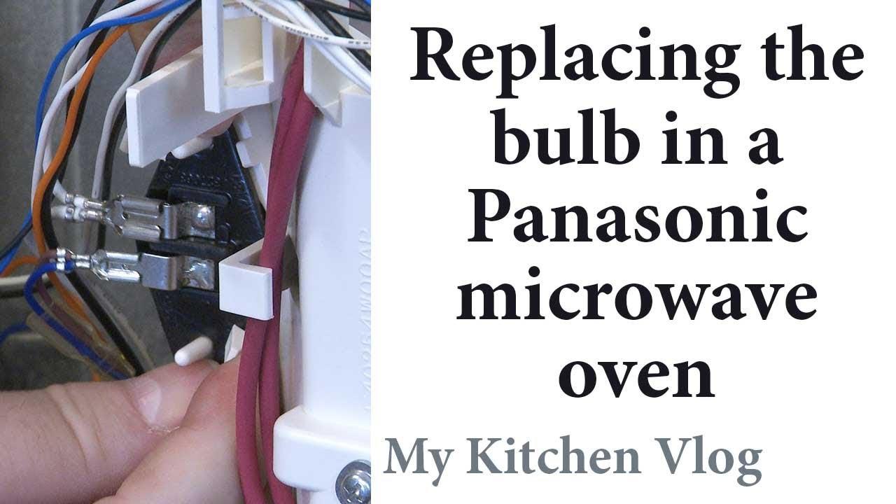 Bulb In A Panasonic Microwave